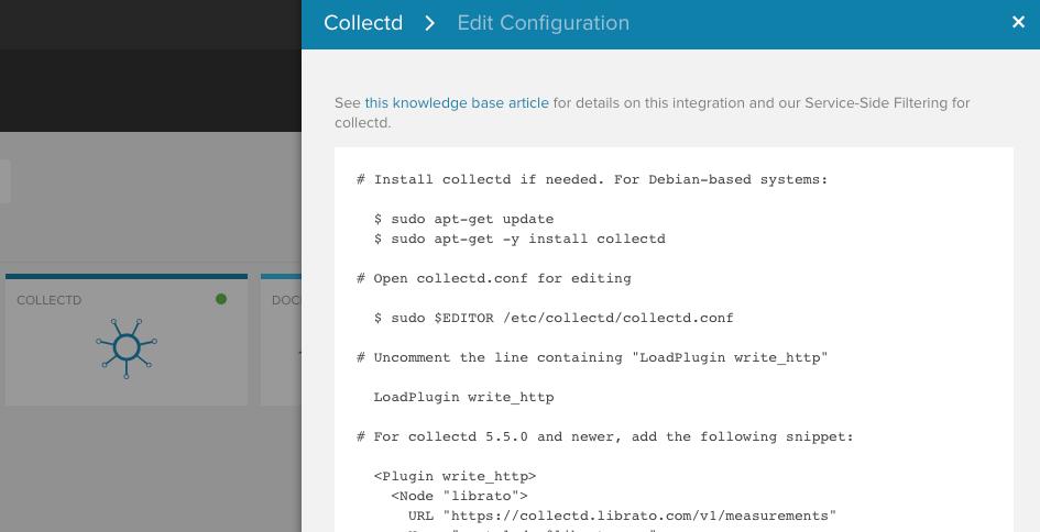 Collectd — Librato Knowledge Base